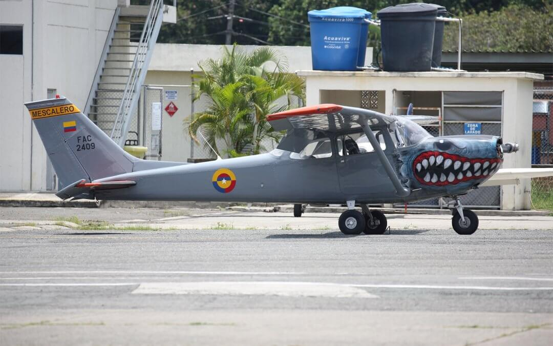 Comando Aéreo de Combate 7 at Cali, Colombia